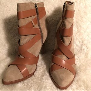 Sam Edelman Vanna Leather Bootie Size 8M